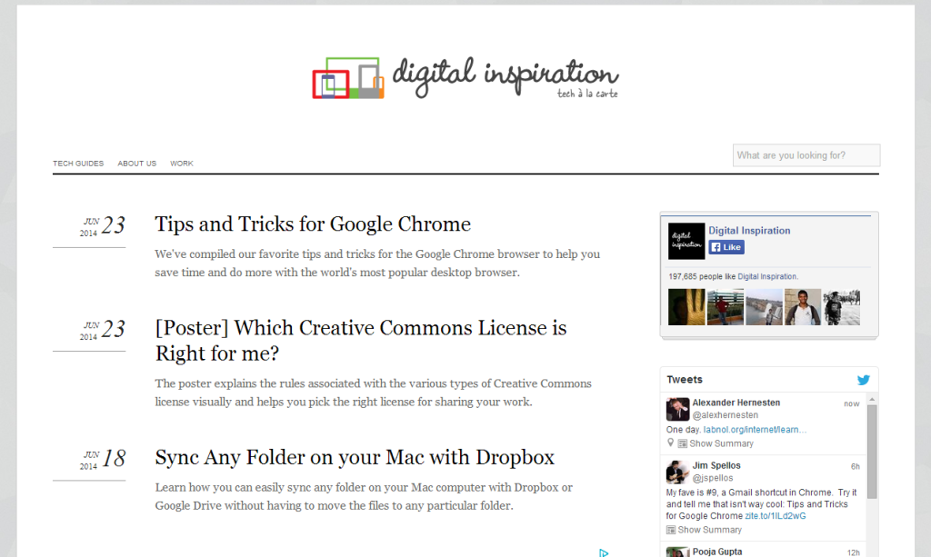 Download Labnol Like Blogger Template For Free - Most Useful Tricks