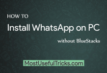 how to install whatsapp on pc