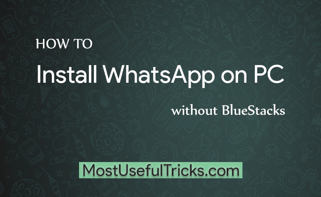 install whatapp on laptop It's only by collecting more information on whatsapp download for windows 8  laptop or windows 81/7 pc that you will install the application on.