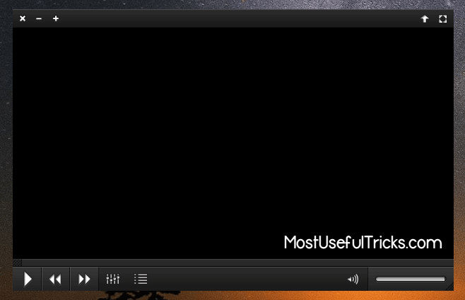 VLC Media Player Skinned Version
