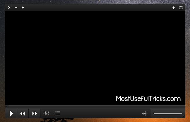 VLC Media Player Skinned Version