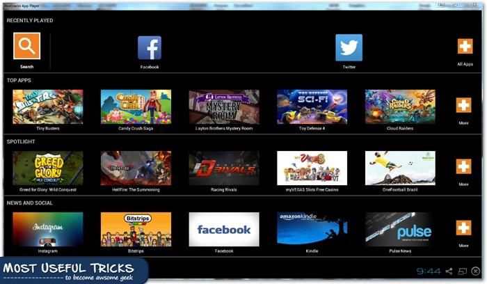 BlueStacks Window Screenshot