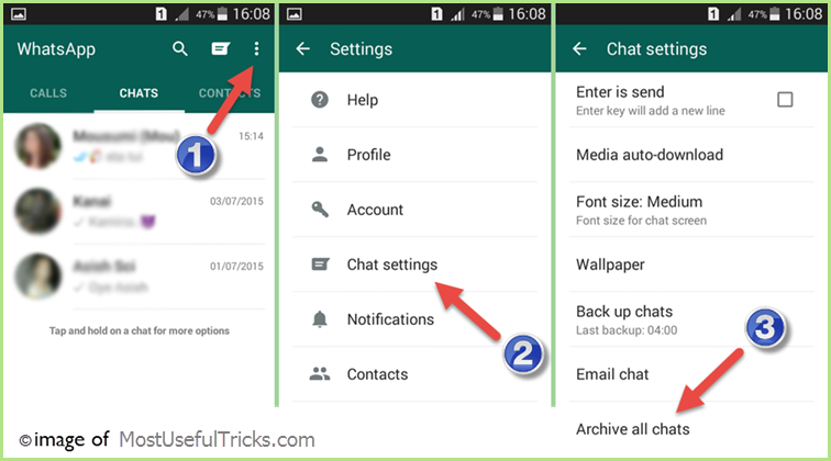 backup whatsapp chat messages