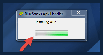 Installing APK in BlueStacks