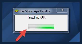 Installing APK in BlueStacks