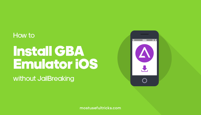 Install GBA Emulator iOS