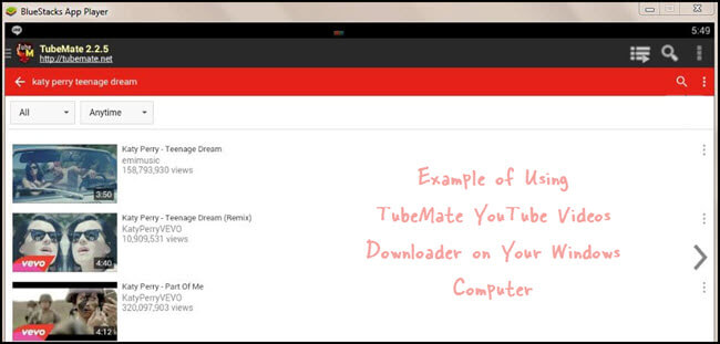 download tubemate app for pc laptop windows 7  8  10 or xp