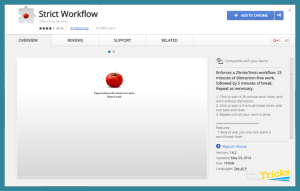 StrictWorkflow Chrome