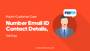 Paytm Customer Care Toll Details