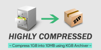 Compress 1GB into 10MB