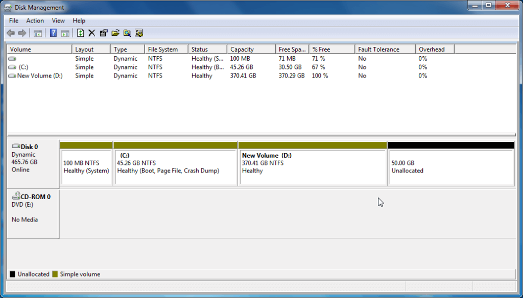 Create Disk Partition on Windows Step (4)