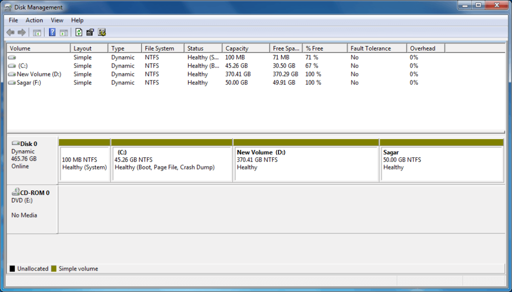 Create Disk Partition on Windows Step (7)