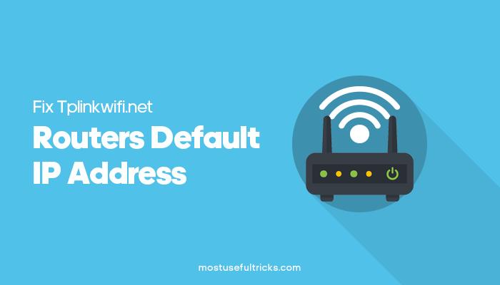Routers Default IP Address
