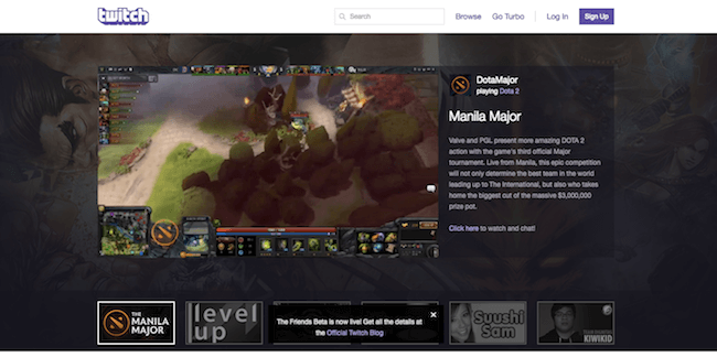 Twitch.com Screenshot