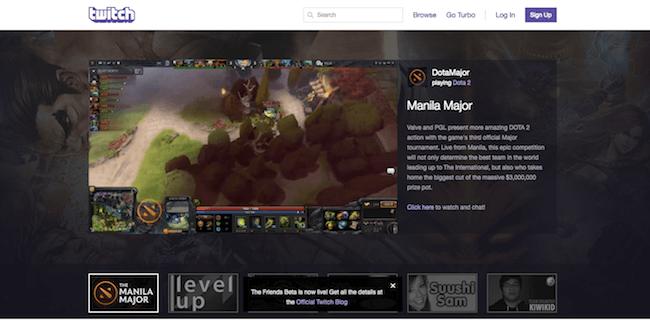 Twitch.com Screenshot
