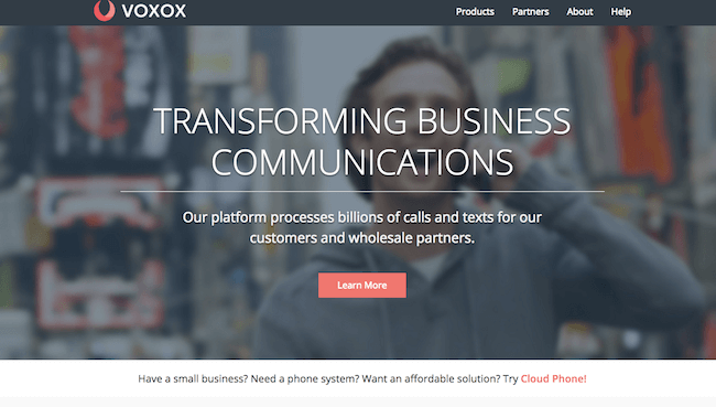 VOXOX Screenshot