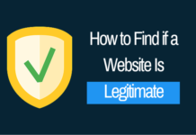 Find if a Website Is Legitimate