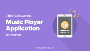 Lightweight Music Player Apps