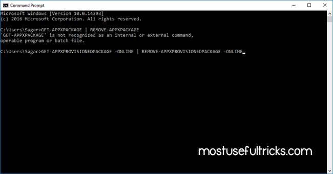 Use CMD to Fix Un-clickable Windows 10 Taskbar