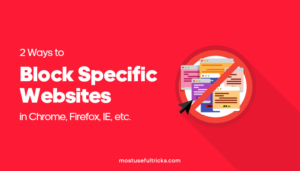 Block Specific Websites
