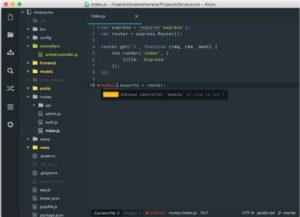 notepad++ for mac- atom