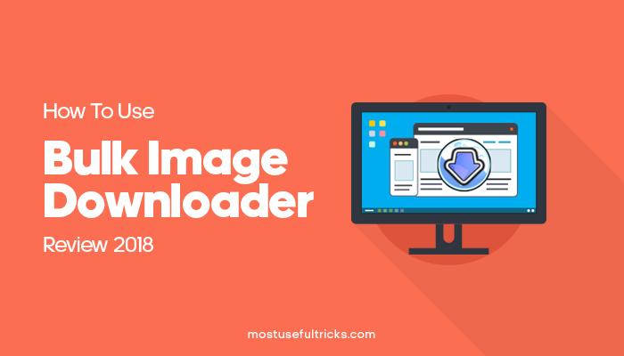 Bulk Image Downloader
