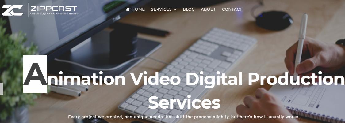 Zippcast Webpage