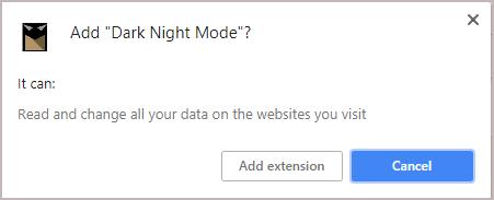 Add Dark Knight Mode