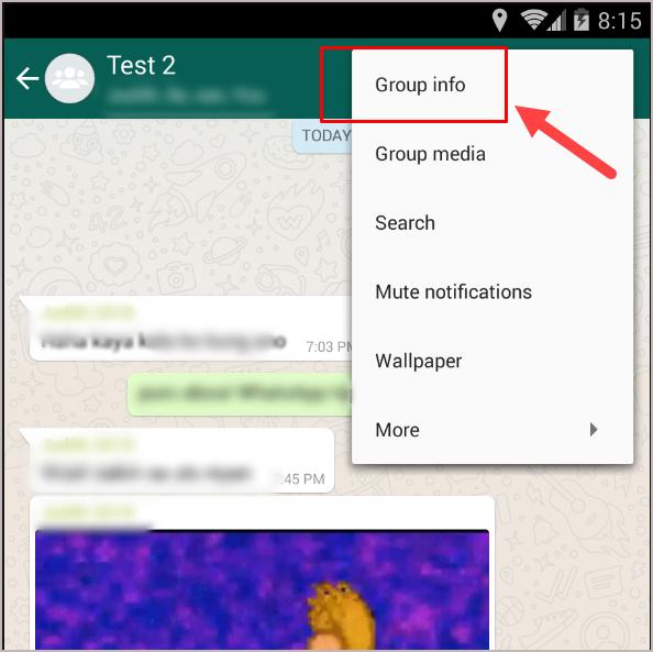 Group Info