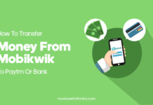 Transfer Money From Mobikwik To Paytm Or Bank