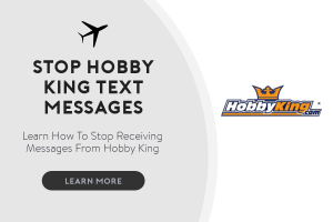 stop hobby king text messages